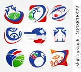 soccer logo league   Shutterstock .eps vector #1048818422