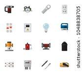 set of 16 editable instruments...