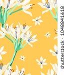 seamless pattern of cardwell... | Shutterstock .eps vector #1048841618