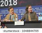 press conference at the grand... | Shutterstock . vector #1048844705