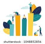 vector creative illustration of ... | Shutterstock .eps vector #1048852856