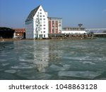Ice Floe In A Strong Winter In...