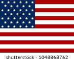 american flag. eps10 vector file | Shutterstock .eps vector #1048868762