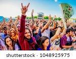 benicassim  spain   jul 13 ... | Shutterstock . vector #1048925975