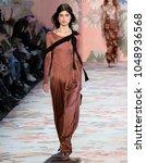 new york  ny   february 12 ...   Shutterstock . vector #1048936568
