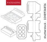package for bakery.vector... | Shutterstock .eps vector #1048936856