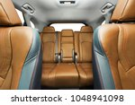 car interior with leather seats   Shutterstock . vector #1048941098