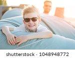 portrait of beautiful smiling...   Shutterstock . vector #1048948772
