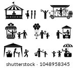 collection of vector... | Shutterstock .eps vector #1048958345