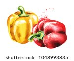 Red And Yellow Bell Peppers....