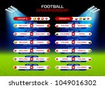 football championship match... | Shutterstock .eps vector #1049016302