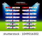 football championship match... | Shutterstock .eps vector #1049016302