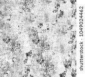 grunge black white. texture of... | Shutterstock . vector #1049024462