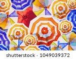Multi Colored Umbrella ...