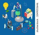 science chemical pharmaceutical ...   Shutterstock .eps vector #1049053646