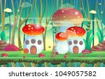 background for games and mobile ... | Shutterstock .eps vector #1049057582
