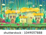 background for games and mobile ...   Shutterstock .eps vector #1049057888