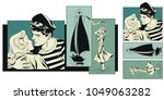 stock illustration. people in... | Shutterstock .eps vector #1049063282