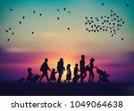 Emigration Family Sky And Bird...