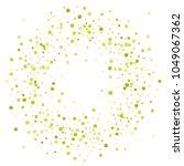 vector colorful round confetti... | Shutterstock .eps vector #1049067362