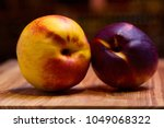 exotic fruits of nectarine  a... | Shutterstock . vector #1049068322