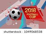 football 2018 world... | Shutterstock .eps vector #1049068538