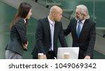senior corpoate executive... | Shutterstock . vector #1049069342