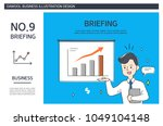 business situation illustration | Shutterstock .eps vector #1049104148