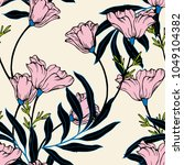 abstract elegance pattern with... | Shutterstock .eps vector #1049104382