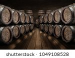 Oak Wine Barrels Wine Cellar - Fine Art prints