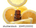 dripping citrus essential oil... | Shutterstock . vector #1049133332