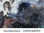 abstract art background. dried... | Shutterstock . vector #1049168492