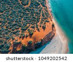 aerial view of francois peron ... | Shutterstock . vector #1049202542