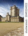 chateau de vincennes in paris.... | Shutterstock . vector #1049224322