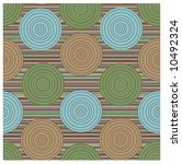 seamless retro abstract pattern | Shutterstock .eps vector #10492324