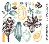 vector collection of tonic and... | Shutterstock .eps vector #1049233646