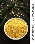 Small photo of Famous Indian vegan snack food protein rich - moong dal -
