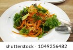 salad with carrot | Shutterstock . vector #1049256482
