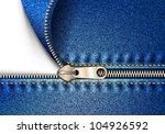 zipper jeans | Shutterstock .eps vector #104926592