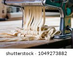 process of production of  pasta.... | Shutterstock . vector #1049273882