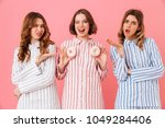 image of young women 20s with... | Shutterstock . vector #1049284406
