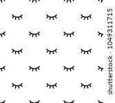 seamless pattern with cartoon... | Shutterstock .eps vector #1049311715