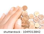 Small photo of Euro, set coins closeup with selective focus. Currency exchange, finance, business growth concept abstract background. Save money for retirement planning. Payment cache signs. Success rich life symbol