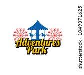 fun park logo design | Shutterstock .eps vector #1049371625