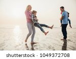 family having fun and making... | Shutterstock . vector #1049372708