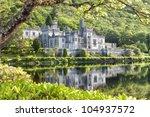 kylemore abbey in connemara ... | Shutterstock . vector #104937572