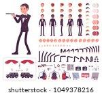 secret agent man  gentleman spy ... | Shutterstock .eps vector #1049378216