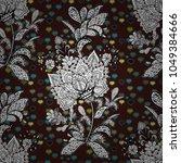 seamless royal luxury cute... | Shutterstock .eps vector #1049384666