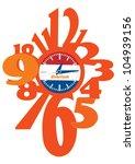 clock | Shutterstock .eps vector #104939156