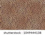 Leopard Fur Horizontal Texture...